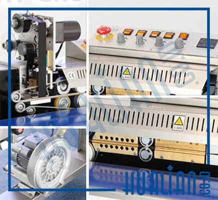 Printing Coding Continuous Sealer FRSC-1010III hualian detail